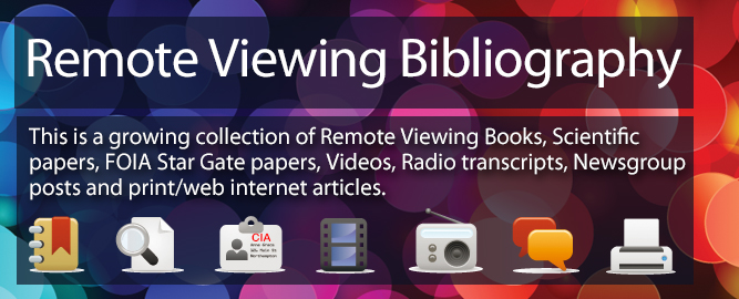 Remote Viewing bibliography.