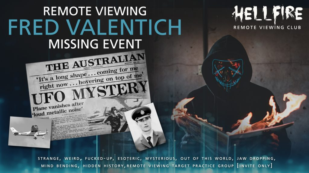 Remote Viewing the Fred Valentich incident.