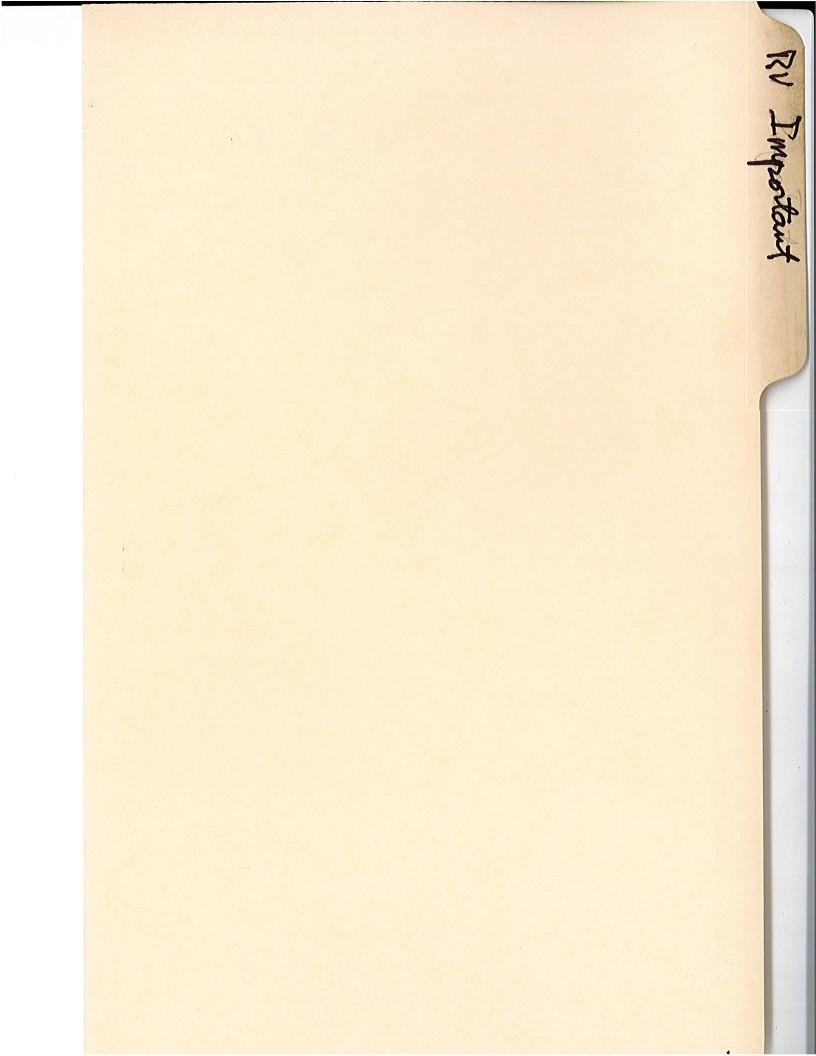 RV Important - Folder