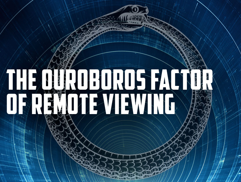 The ouroboros factor of remote viewing